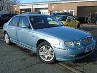 2001 ROVER 75 2.0 CLUB SE 4d 148 BHP £795.00