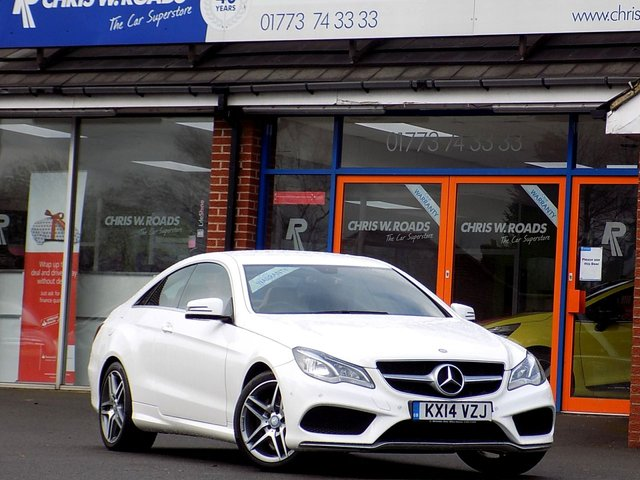 USED 2014 14 MERCEDES-BENZ E CLASS E220 CDi AMG SPORT 2dr (170) *ONLY 9.9% APR*