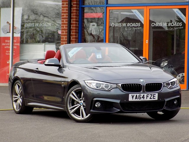 USED 2015 64 BMW 4 SERIES 435i M SPORT 2dr AUTO CONVERTIBLE (300)  ** Pro Nav + Air Collar * 19s **
