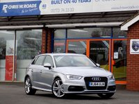 USED 2015 64 AUDI A3 2.0 TDi S LINE 5dr (150) ** Only 17000 miles and 20 RFL**