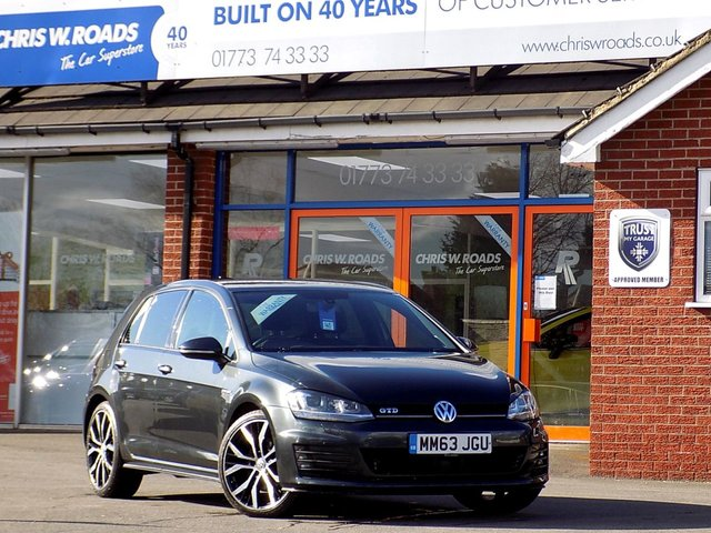 USED 2014 63 VOLKSWAGEN GOLF 2.0 GTD 5dr 181 BHP * Upgrade Alloys * *ONLY 9.9% APR*