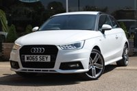 USED 2016 65 AUDI A1 1.4 TFSI S LINE BLACK EDITION 3d 148 BHP