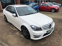 USED 2012 62 MERCEDES-BENZ C CLASS 2.1 C220 CDI BLUEEFFICIENCY AMG SPORT PLUS 4d AUTO 168 BHP IN WHITE APPROVED CARS ARE PLEASED TO OFFER THIS MERCEDES-BENZ C CLASS 2.1 C220 CDI BLUEEFFICIENCY AMG SPORT PLUS 4 DOOR AUTOMATIC IN WHITE WITH A GREAT SPEC INCLUDING SAT NAV,FULL LEATHER INTERIOR,CRUISE CONTROL AND MUCH MUCH MORE WITH A FULL MERCEDES SERVICE HISTORY SERVICED AT 11K,21K,28K AND 37K.