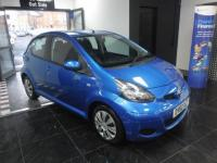 USED 2010 60 TOYOTA AYGO 1.0 VVT-i Blue 5dr JUST SERVICED