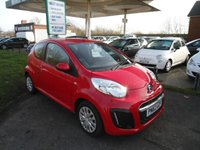 USED 2012 62 CITROEN C1 1.0 VTR 3d 67 BHP 7 SERVICE STAMPS FREE ROAD TAX