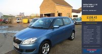 USED 2013 13 SKODA FABIA 1.2 SE 12V 5d 68 BHP SKODA SERVICE HISTORY ( SEE PICTURES)