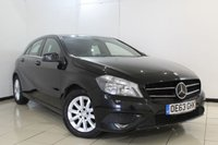 USED 2014 63 MERCEDES-BENZ A CLASS 1.5 A180 CDI BLUEEFFICIENCY SE 5DR 109 BHP FULL SERVICE HISTORY + HALF LEATHER SEATS + BLUETOOTH + MULTI FUNCTION WHEEL + AUXILIARY PORT + AIR CONDITIONING + 16 INCH ALLOY WHEELS
