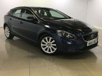 USED 2014 14 VOLVO V40 1.6 D2 SE LUX 5d 113 BHP 1 Owner/Leather/Bluetooth/DAB