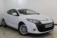 USED 2013 63 RENAULT MEGANE 1.5 DYNAMIQUE TOMTOM ENERGY DCI S/S 3DR 110 BHP FULL SERVICE HISTORY + BLUETOOTH + PARKING SENSOR + CRUISE CONTROL + MULTI FUNCTION WHEEL + AIR CONDITIONING + AUXILIARY PORT + 16 INCH ALLOY WHEELS
