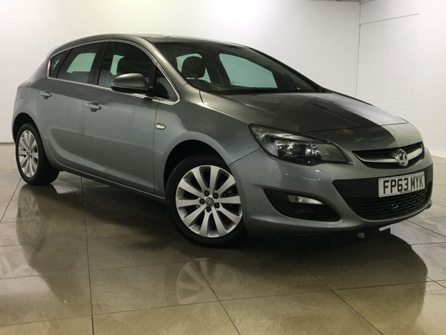View our 2014 63 VAUXHALL ASTRA 1.2 TECH LINE CDTI ECOFLEX S/S 5d 95 BHP
