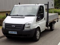 2012 FORD TRANSIT 2.2 RWD 350 MWB SRW TIPPER 100BHP 6 SPEED £5995.00