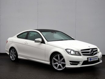 2014 MERCEDES-BENZ C CLASS 2.1 C220 CDI AMG SPORT EDITION (PREMIUM PLUS) 2d AUTO £SOLD