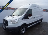 USED 2016 66 FORD TRANSIT 2.2 350 H/R P/V 1d 124 BHP LWB HIGH ROOF  LONG WHEEL BASE HIGH ROOF WITH ELECTRIC WINDOWS