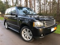2010 LAND ROVER RANGE ROVER 3.6 TDV8 VOGUE SE 5d AUTO 271 BHP £16995.00