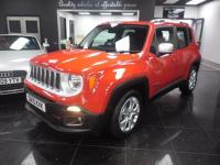 2015 JEEP RENEGADE 1.6 MultiJet Limited Station Wagon 5dr £13499.00