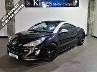 2011 PEUGEOT RCZ 1.6 THP GT 2dr Coupe £7480.00