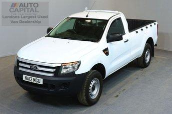 2012 FORD RANGER 2.2 XL 4X4 S/C TDCI 2d 148 BHP  £7490.00