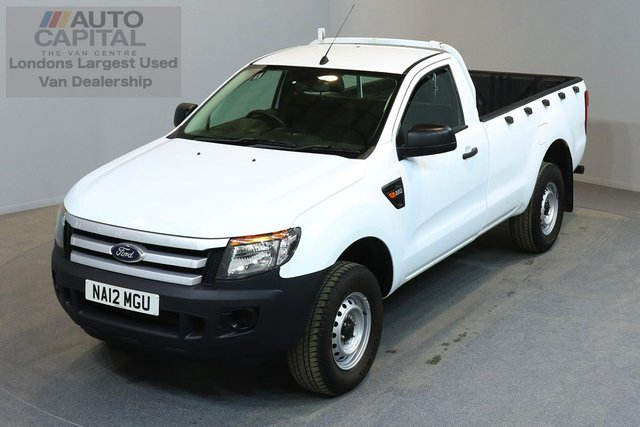 2012 12 FORD RANGER 2.2 XL 4X4 S/C TDCI 2d 148 BHP  ONE OWNER FROM NEW