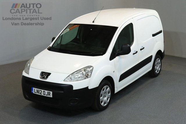 2012 12 PEUGEOT PARTNER 1.6 HDI S L1 850 5d 89 BHP ELECTRIC WINDOWS AND MIRRORS REAR SENSORS ONE OWNER FROM NEW
