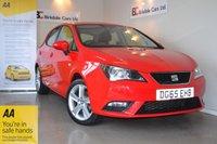 2015 SEAT IBIZA 1.4 TOCA 5d 85 BHP £6995.00