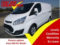2016 FORD TRANSIT CUSTOM 270 L1 SWB Limited 125ps £12995.00