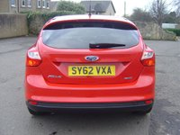 USED 2012 62 FORD FOCUS 1.0 ZETEC 5d 124 BHP