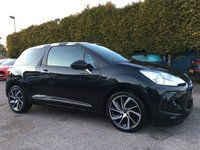2016 DS DS 3 1.6 HDI BLUE DSTYLE SAT NAV S/S 3d ONE OWNER FROM NEW £8000.00