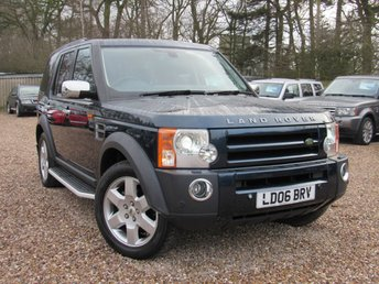 2006 LAND ROVER DISCOVERY 2.7 3 TDV6 HSE 5d AUTO 188 BHP £9000.00