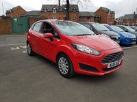 USED 2015 15 FORD FIESTA 1.2 STYLE 5d 81 BHP EXCELLENT FUEL ECONOMY!..LOW CO2 EMISSIONS..LOW ROAD TAX...FULL HISTORY...ONLY 18354 MILES FROM NEW!!..WITH AIR CONDITIONING!
