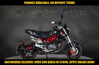 USED 2017 67 BENELLI TNT 125 NAKED  GOOD & BAD CREDIT ACCEPTED, OVER 500+ BIKES IN STOCK