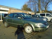 2003 VOLKSWAGEN PASSAT 1.9 S TDI 4d 99 BHP £1195.00