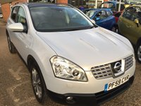 USED 2010 59 NISSAN QASHQAI 2.0 TEKNA DCI 4WD 5d 148 BHP IN SILVER WITH LEATHER AND REVERSE CAMERA APPROVED CARS ARE PLEASED TO OFFER THIS NISSAN QASHQAI 2.0 TEKNA DCI 4WD 5 DOOR 148 BHP IN SILVER WITH A GREAT SPEC INCLUDING A FULL BLACK LEATHER INTERIOR AND REVERSE CAMERA WITH A FULL SERVICE HISTORY BOOK AND BILLS  A GREAT 4X4 SUV CAR AND A VERY POPULAR CAR.