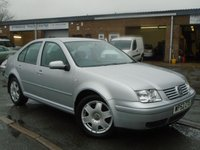 USED 2002 52 VOLKSWAGEN BORA 1.9 SE TDI 4d 99 BHP FULL SERVICE HISTORY WITH 19 STAMPS, INC A CAMBELT AT 61K AND 74K