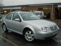 2002 VOLKSWAGEN BORA 1.9 SE TDI 4d 99 BHP £1495.00