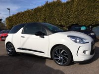 2015 CITROEN DS3 1.6 E-HDI DSTYLE PLUS 3d  FREE TAX AND EXCELLENT MPG £7500.00