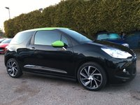 USED 2014 64 CITROEN DS3 1.6 E-HDI DSTYLE PLUS 3d  ONE OWNER FROM NEW NO DEPOSIT PCP/HP FINANCE ARRANGED, APPLY HERE NOW