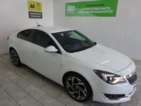 USED 2015 65 VAUXHALL INSIGNIA 1.6 LIMITED EDITION CDTI ECOFLEX S/S 5d 134 BHP