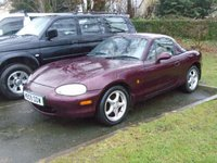 USED 2000 W MAZDA MX-5 1.8 ICON 2d 137 BHP JUST 2 OWNERS+HARDTOP INCLUDED