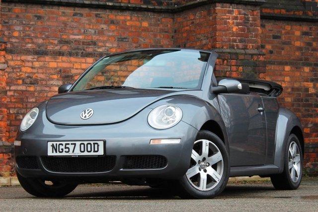 2007 57 VOLKSWAGEN BEETLE 1.6 Luna Cabriolet 2dr