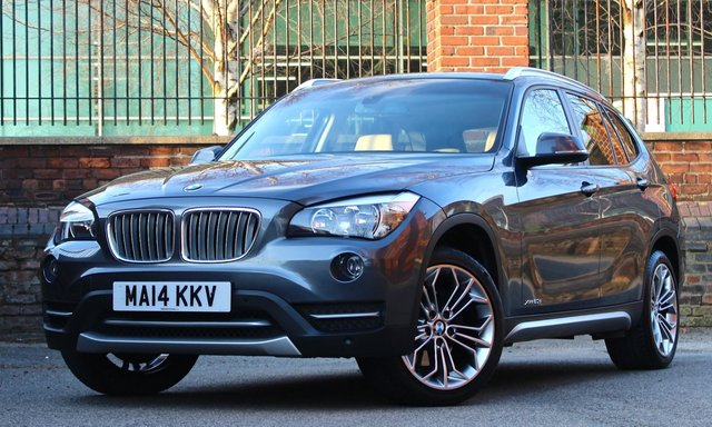 2014 14 BMW X1 2.0 XDRIVE20D XLINE 5d AUTO 181 BHP