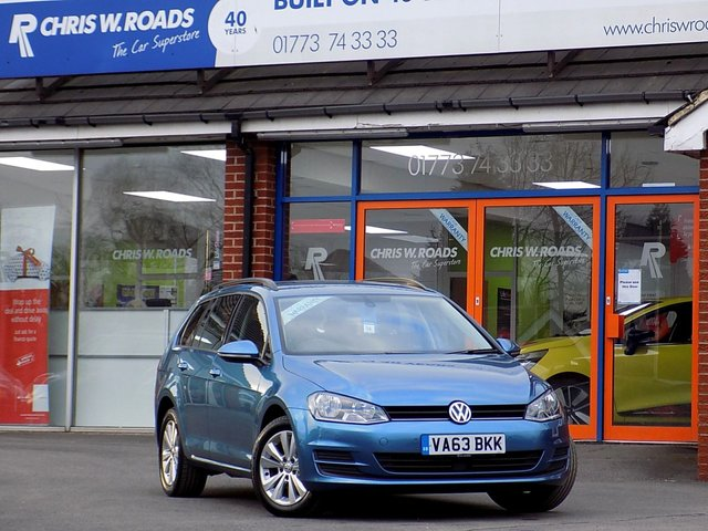 USED 2014 63 VOLKSWAGEN GOLF 2.0 TDi SE BLUEMOTION TECHNOLOGY 5dr (150)  *ONLY 9.9% APR*