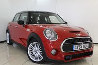 USED 2014 64 MINI HATCH COOPER 2.0 COOPER SD 5DR 168 BHP HALF LEATHER SEATS + SAT NAVIGATION + MINI CONNECTED XL + PARKING SENSOR + BLUETOOTH + CRUISE CONTROL + DAB RADIO + 17 INCH ALLOY WHEELS