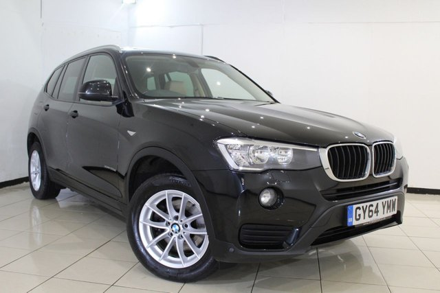 View our 2014 64 BMW X3 2.0 XDRIVE20D SE 5DR AUTOMATIC 188 BHP