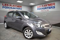USED 2014 64 HYUNDAI I20 1.2 STYLE 5d 84 BHP Full Hyundai Service history, 1 owner, Cheap Tax, Bluetooth