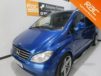 USED 2006 56 MERCEDES-BENZ VITO 2.1 111 CDI LONG  1d 109 BHP 6 Seater crew cab sound proofed and insulated