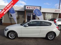 USED 2012 62 BMW 1 SERIES 2.0 116D SE 3DR HATCHBACK DIESEL 114 BHP - £30 ROAD TAX PER YEAR  ++++SUMMER SALE NOW ON+++