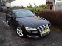 2011 AUDI A8 3.0 TDI QUATTRO SE EXECUTIVE 4d AUTO 250 BHP £11988.00