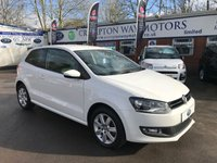 2014 VOLKSWAGEN POLO 1.4 MATCH EDITION 3d 83 BHP £7995.00