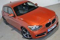 2012 BMW 1 SERIES 2.0 116D SPORT 5d 114 BHP £9000.00