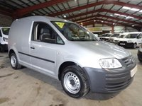 2010 VOLKSWAGEN CADDY 1.9 C20 TDI SWB 103 BHP WITH AIR CON-ONE OWNER-LOW MILEAGE £5250.00